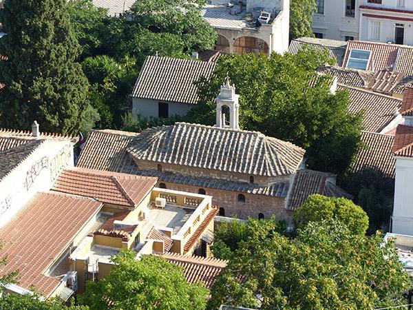 encore une église vue de haut