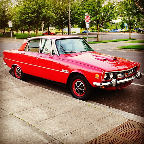 1970 Rover 3500 V8. Very Few Left In These Parts. Portland