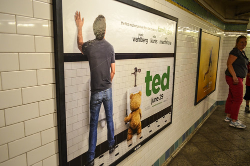 Ted poster nyc times square subway station m01229 flickr for Ted s fishing station