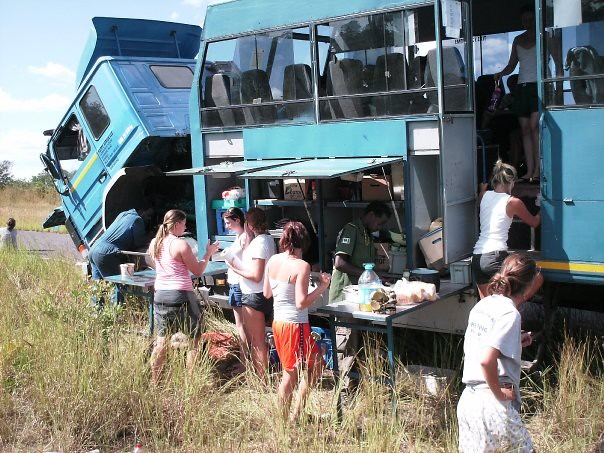 Lunch Broken Truck