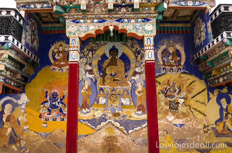 valle del Indo monasterio de Thiksey