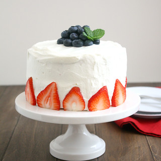 Red, White and Blue Poke Cake | by Tracey's Culinary Adventures