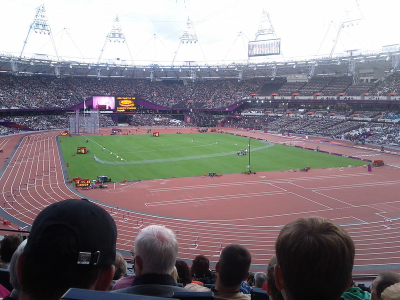 #london2012 we're back, and we're on
