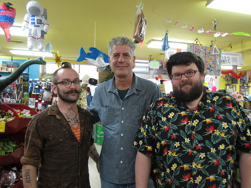 Anthony Bourdain visits Archie McPhee! | by Archie McPhee Seattle