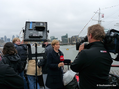 Danish News Crew (TV2 News) | For the Diamond Jubilee river ...