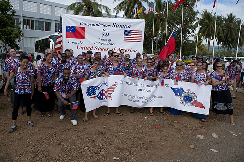 The 50 year anniversary of independence of Samoa celebrations | by US Embassy New Zealand