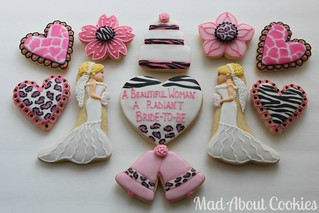 Samantha's Bridal Shower - Singles | by Mad About Cookies