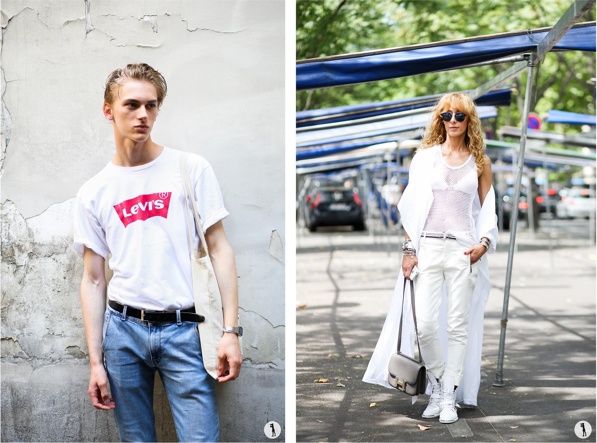 Street style, PFW menswear SS16