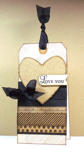 Love You - Tag Card | by CreationsBy(Martha)