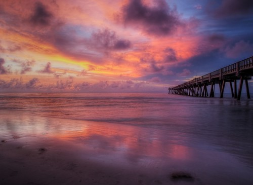 Jacksonville Beach Sunrise | by Krazy Diamnd