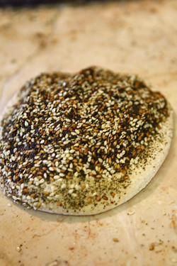 seeded flatbread | by David Lebovitz
