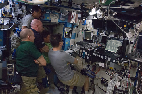 Expedition 31 Watches SpaceX Launch | by NASA Johnson