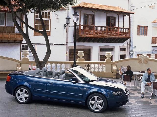 Кабриолет Audi A4 B6 Cabrio. 2001 - 2005 годы