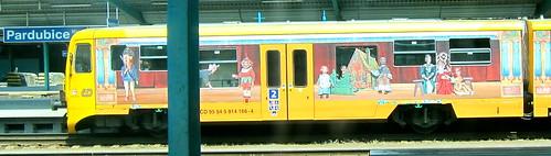 juna Tsekissä