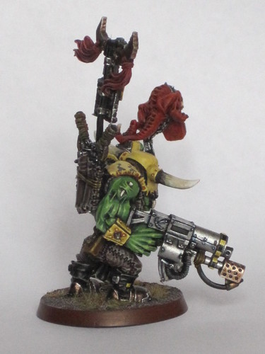 Badmoon Ork Warboss | by Da Painter