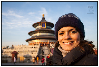Adriana at the Temple of Heaven | by Aaron Miller - Postcard Intellect