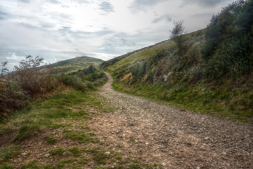 Path on North Hill - Malverns