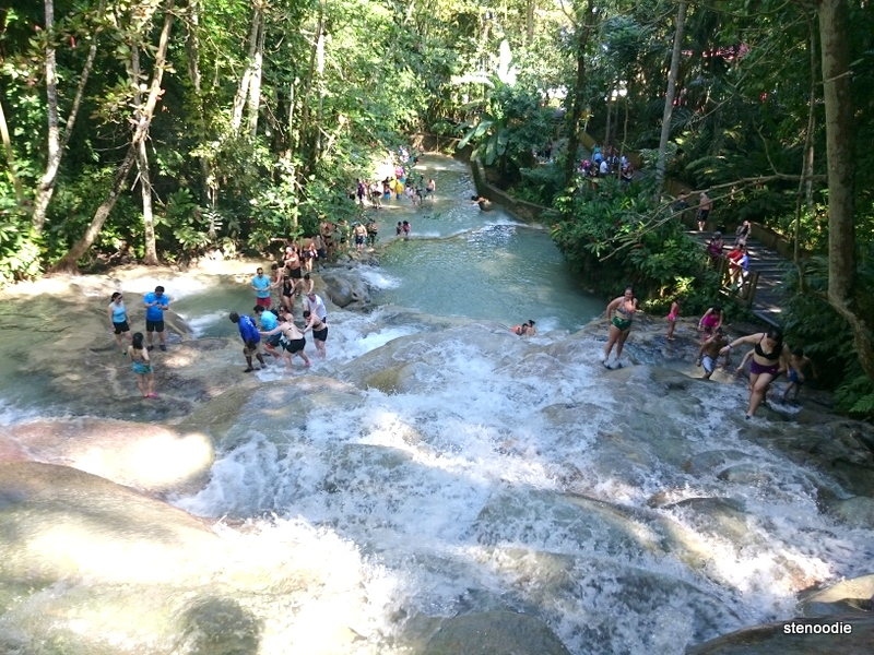 Dunn's River Falls views