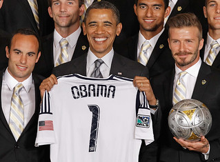 LA Galaxy at The White House | by LA Galaxy