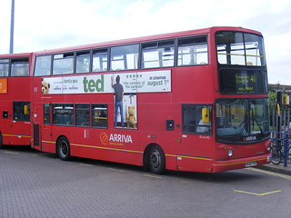 Arriva DLAs on the 41 Route to Archway 242 and 240. X442 FGP and X503 GGO, Tottenham Hale | by sludgegulper