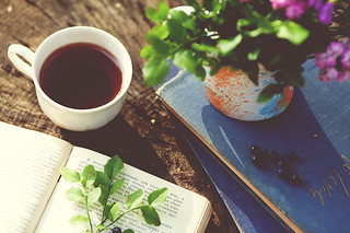 tea and books | by Eyesmile_photo