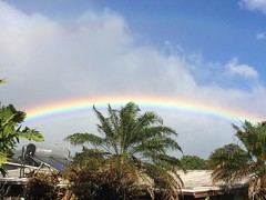 thanks for today❤︎  #rainbow #hawaii