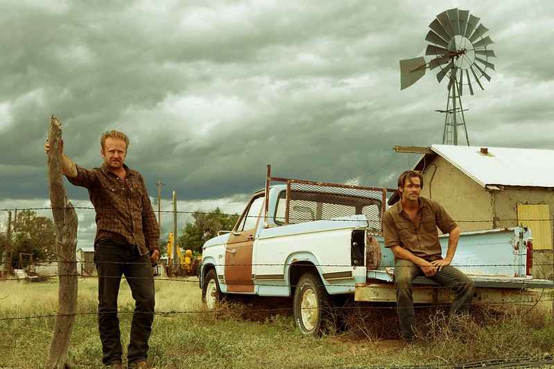 Ben Foster and Chris Pine are on a desperate mission in HELL OR HIGH WATER.