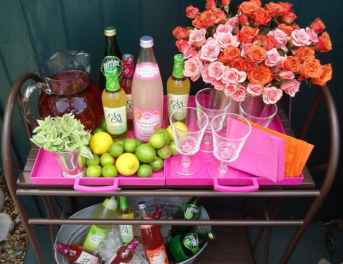 Outdoor Bar Cart 2 | by House of Fifty mag