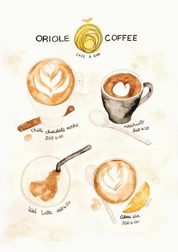Oriole Coffee | by The Lily X