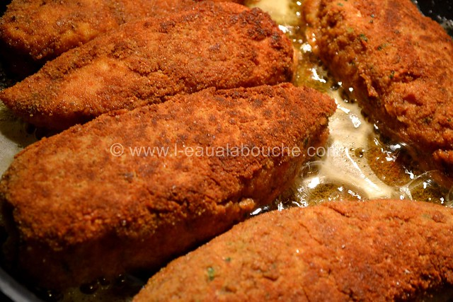 Poulet Pané au Tandoori Condiment Poivrons Grillés © Ana Luthi Tous droits réservés 012