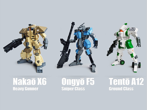 Mecha Classes roundup 2 | by Fredoichi