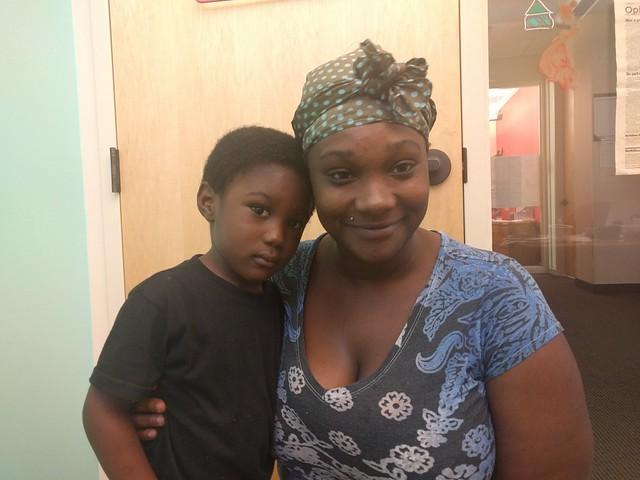 Rosheeda and son