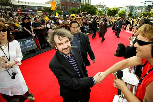 Peter Jackson at King Kong premiere | by The Classic New Zealand Wine Trail