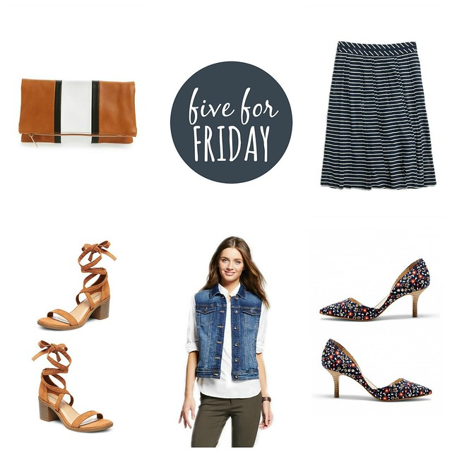 five for friday hanging onto summer | Style On Target