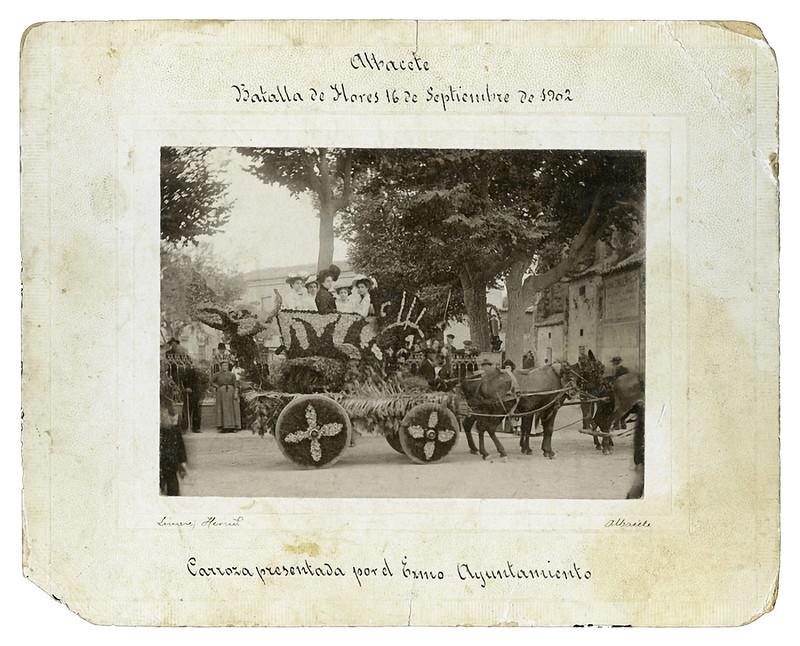 hermanos linares batalla flores 1902 Propietario: Godofredo Giménez Esparcia