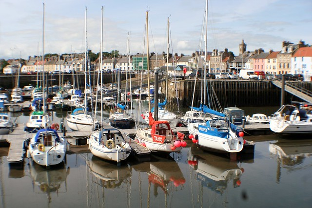 Anstruther Marina, Fife, Scotland.