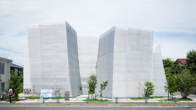 Facade of Nakamachi Terrace (なかまちテラス)