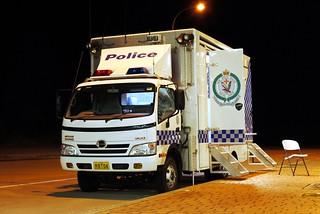 nsw police rbt setup guidelines