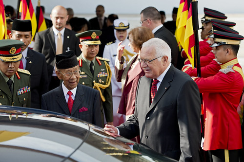 State Visit of His Excellency Vaclav Klaus, The President of Czech Republic and Madam Livia Klausova to Malaysia | by wazari