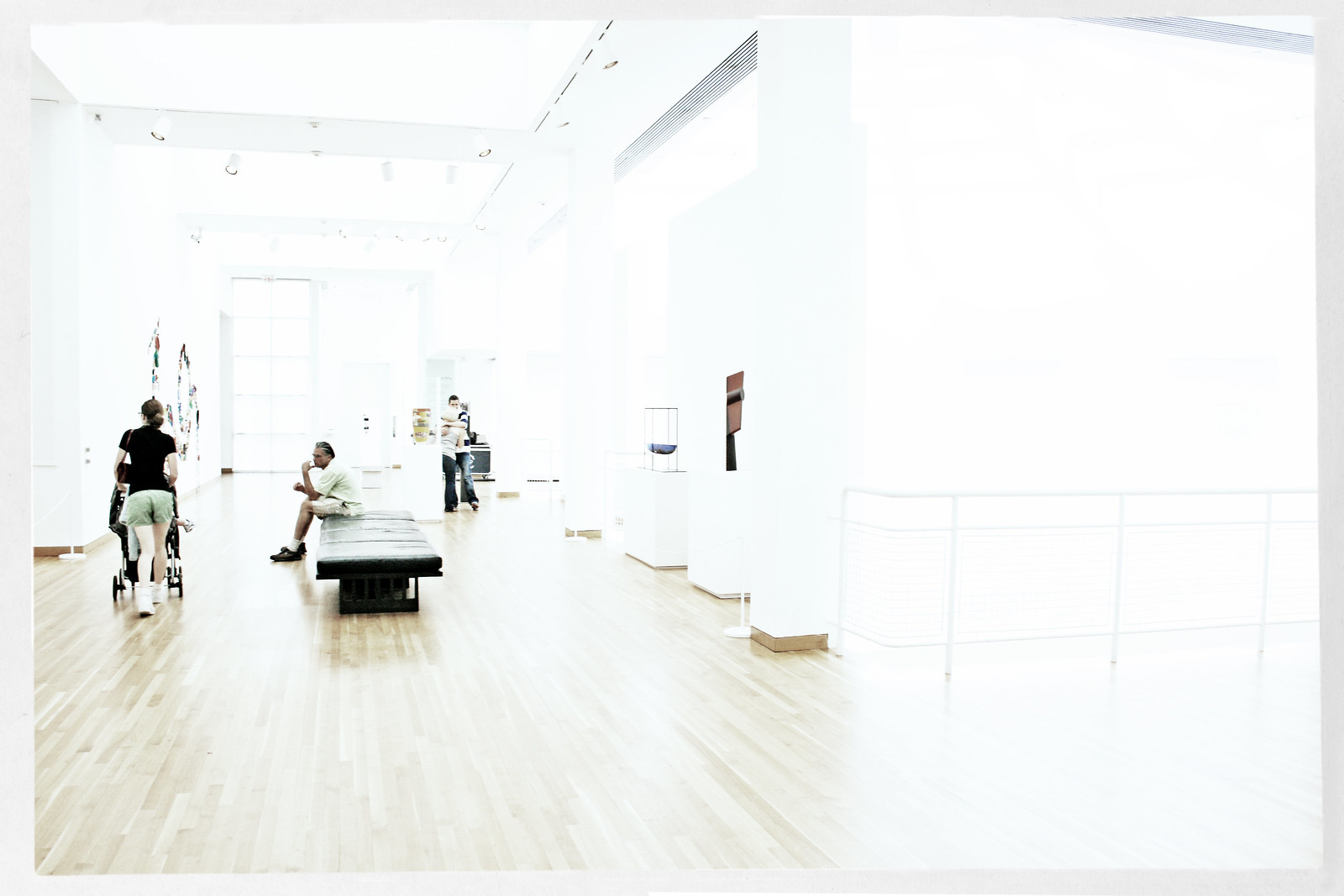 Stroller at the High Museum #3 and 1/2