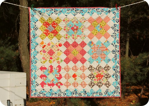 Short Trips Baby Quilt | by twinfibers