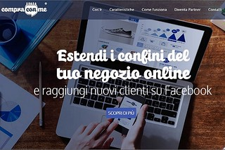 Noicattaro. Start-up Compra con me front