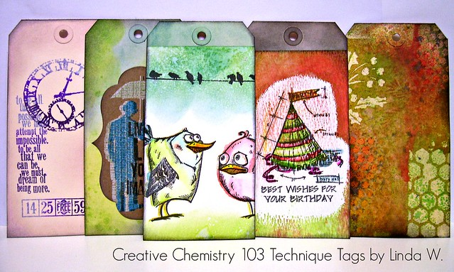 Creative Chemistry 103 Day 1 tags