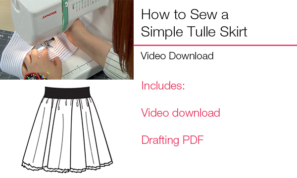 Simple Tulle Skirt
