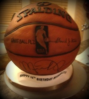 """Autographed"" Basketball 