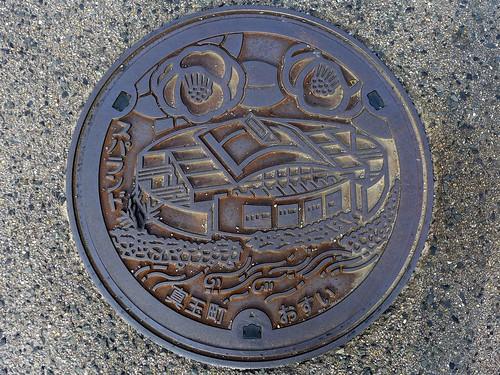Matama Oita, manhole cover (大分県真玉町のマンホール)