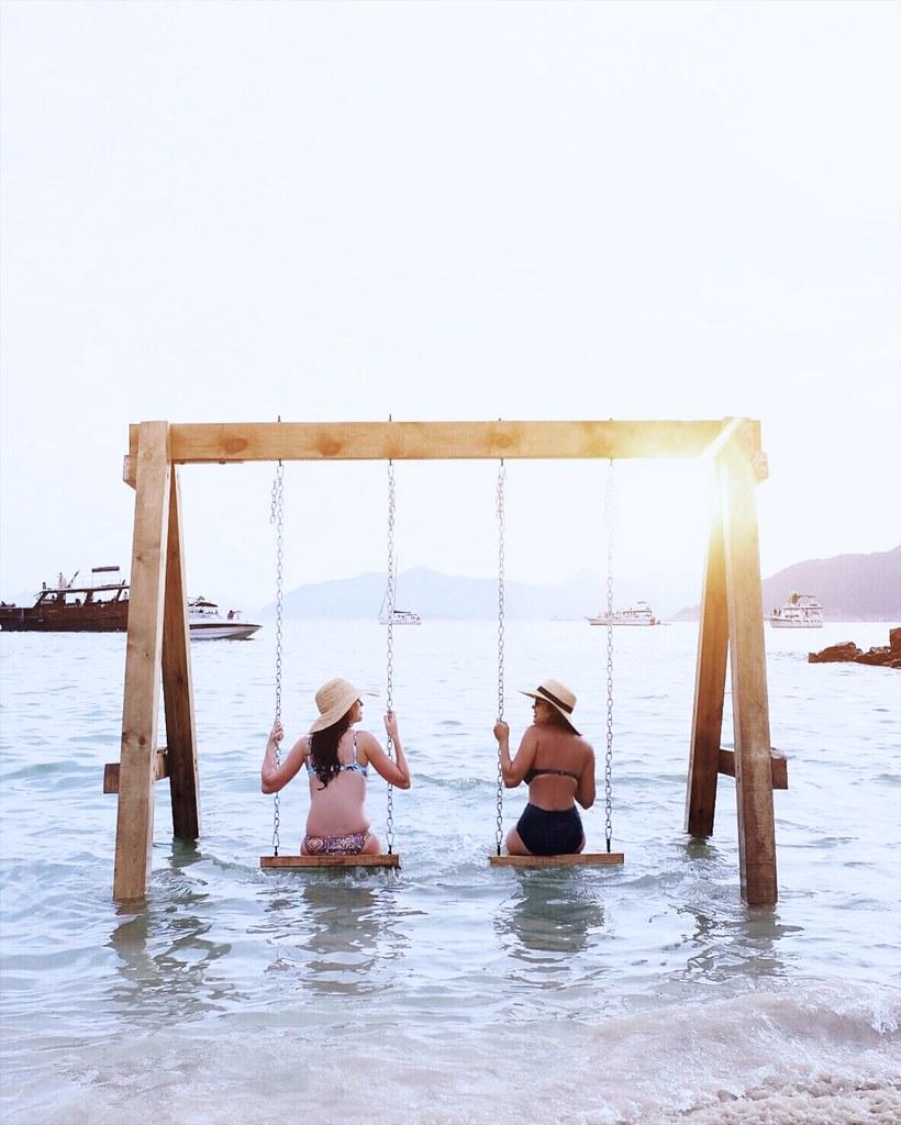 DIY ocean swing
