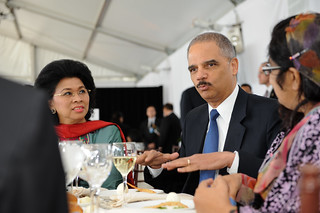 United States Attorney General Eric Holder attends the High-level Lunch Event on Women's Access to Justice, co-hosted by Finland, South Africa and UN Women | by UN Women Gallery
