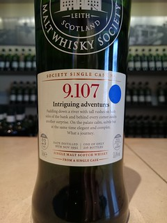 SMWS 9.107 - Intriguing adventures