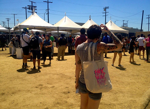 FYF Main Entrance_Tote Lurker | by Incase.